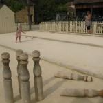 quilles en bois - village bournat