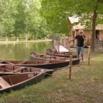 balade barque - village bournat