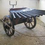 armes de guerre - Château de Castelnaud