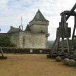 catapultes - Château de Castelnaud