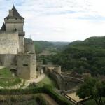 vue panoramique - Château de Castelnaud