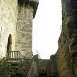 remparts intérieurs - Château de Castelnaud