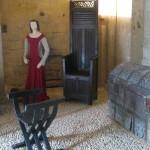 reconstitution scène de vie - Château de Castelnaud