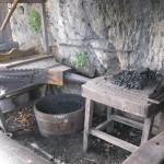 soufflet et charbon - Château de Castelnaud