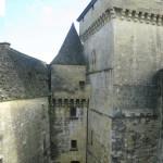 cour intérieures - Château de Castelnaud