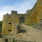 remparts entrée - Château de Castelnaud