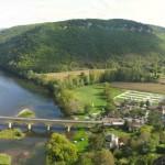 vue Dordogne et village - Château de Castelnaud