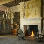 salle interieure - chateau losse