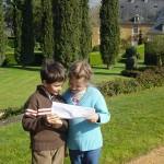 jardins manoir eyrignac - chasse tresor paques