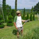 jardins manoir eyrignac - jardinier