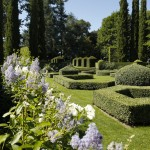 jardins manoir eyrignac - parterre fleurs