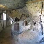 Roque Saint Christophe - armes et outils