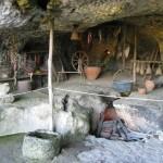 Roque Saint Christophe - reconstitution vie