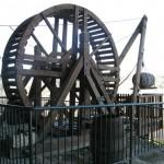 Roque Saint Christophe - roue bois