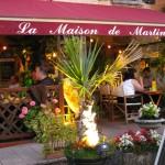 Chez Martine Campagne - terrasse exterieure