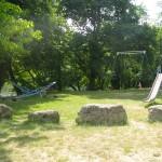 Plage Coux-et-Bigaroque - aire jeux enfants