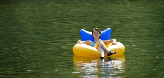 Descente en bouée Dordogne