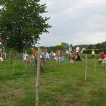 festival epouvantails meyrals - le champs