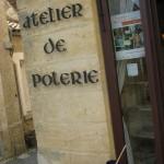atelier poterie - village limeuil