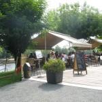 terrasse - village limeuil