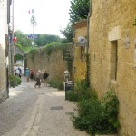 centre du village - limeuil