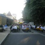 Marche du Coux - tables pour manger