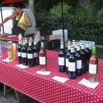 Marche nocturne Coux - vente de vin