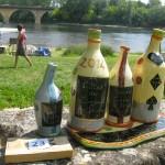 bouteilles - marche potiers limeuil