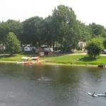 plage du buisson - canoes