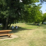 plage du buisson - table picnic