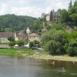 plage limeuil - village