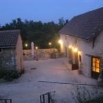 La Savie - terrasse soiree
