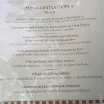 couleurs café restaurant menu intuition