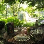 terrasse exterieure - etincelles gentilhommière