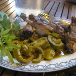 canard aux bambous - Auberge Layotte