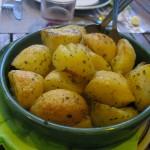 pommes de terre confites - Auberge Layotte