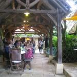 terrasse couverte - Auberge Layotte