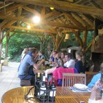 tablees en terrasse - Auberge Layotte