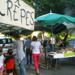 Marché gourmand Limeuil - crepes et pain bion