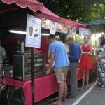 Marché gourmand Limeuil - plats cuisines