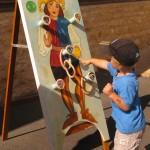 jeux pour enfants - fête médiévale Belvès