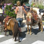 poneys - fête médiévale Belvès
