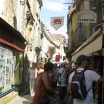 rue commerçante - fête médiévale Belvès