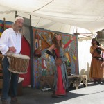 spectacle chant et dance - fête médiévale Belvès