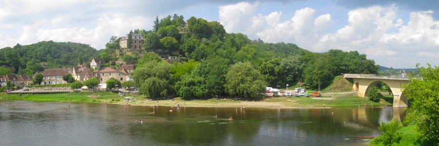 village de Limeuil en Dordogne