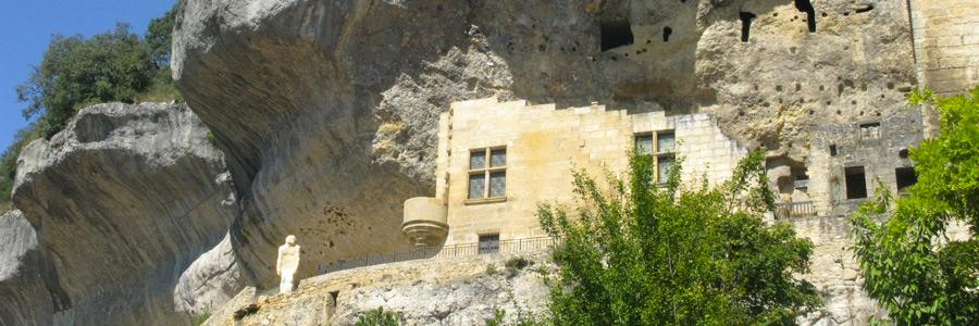 village de Les Eyzies-de-Tayac en Dordogne