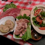 Assiette composee - La Table d'Obelixe